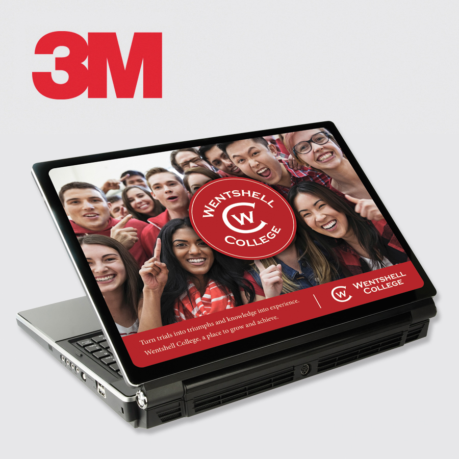 3M™ Custom Printed Skin — Laptop